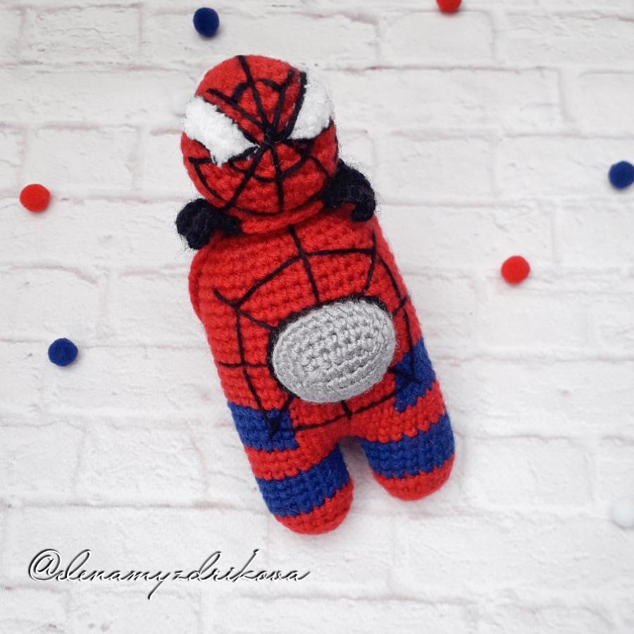 Схема Амонг Ас Человек паук крючком