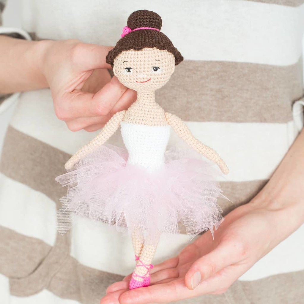 Балерина, фото, картинка, схема, описание, бесплатно, крючком, амигуруми