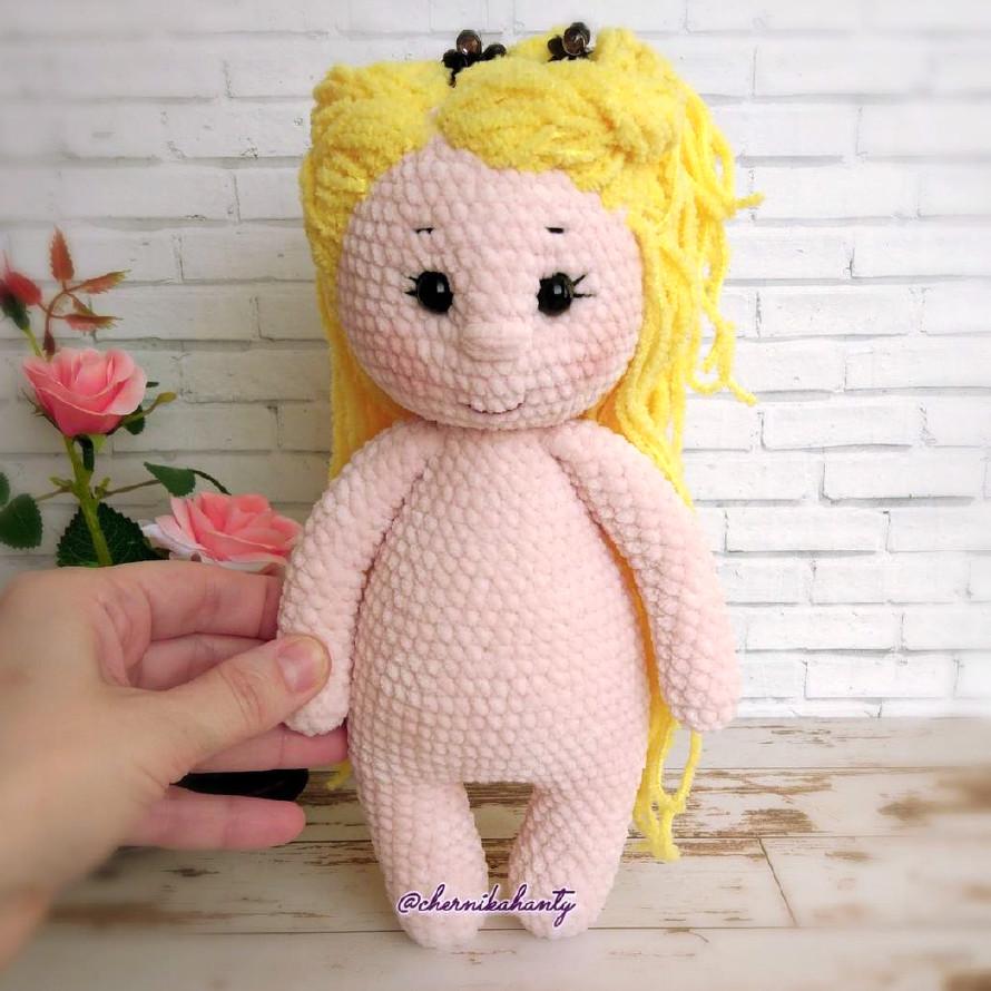 Базовое тело куколки, фото, картинка, схема, описание, бесплатно, крючком, амигуруми