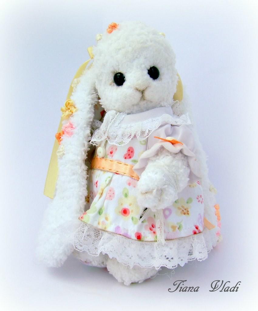 Белый кролик, фото, картинка, схема, описание, бесплатно, крючком, амигуруми