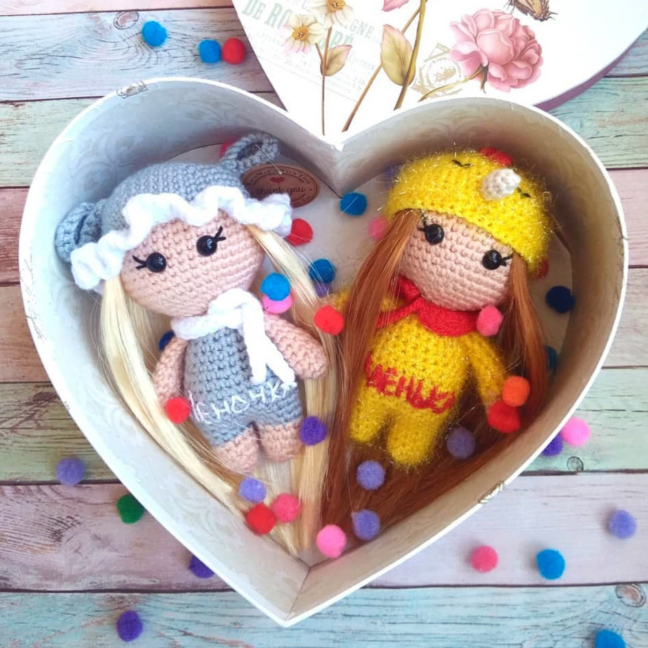 Девочка в шляпке, фото, картинка, схема, описание, бесплатно, крючком, амигуруми