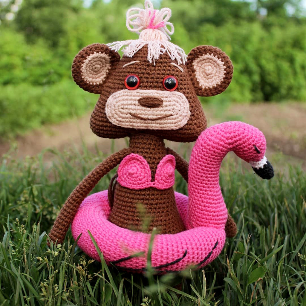 Яна дитя джунглей, фото, картинка, схема, описание, бесплатно, крючком, амигуруми