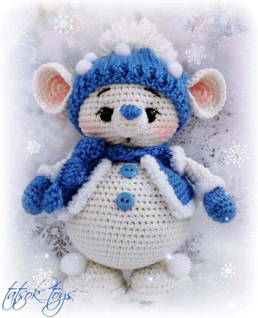 Кавалер для Снегомышки, фото, картинка, схема, описание, бесплатно, крючком, амигуруми