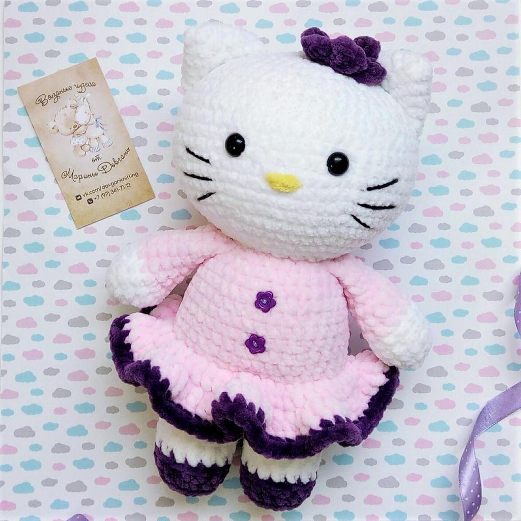 Кошечка Китти, фото, картинка, схема, описание, бесплатно, крючком, амигуруми