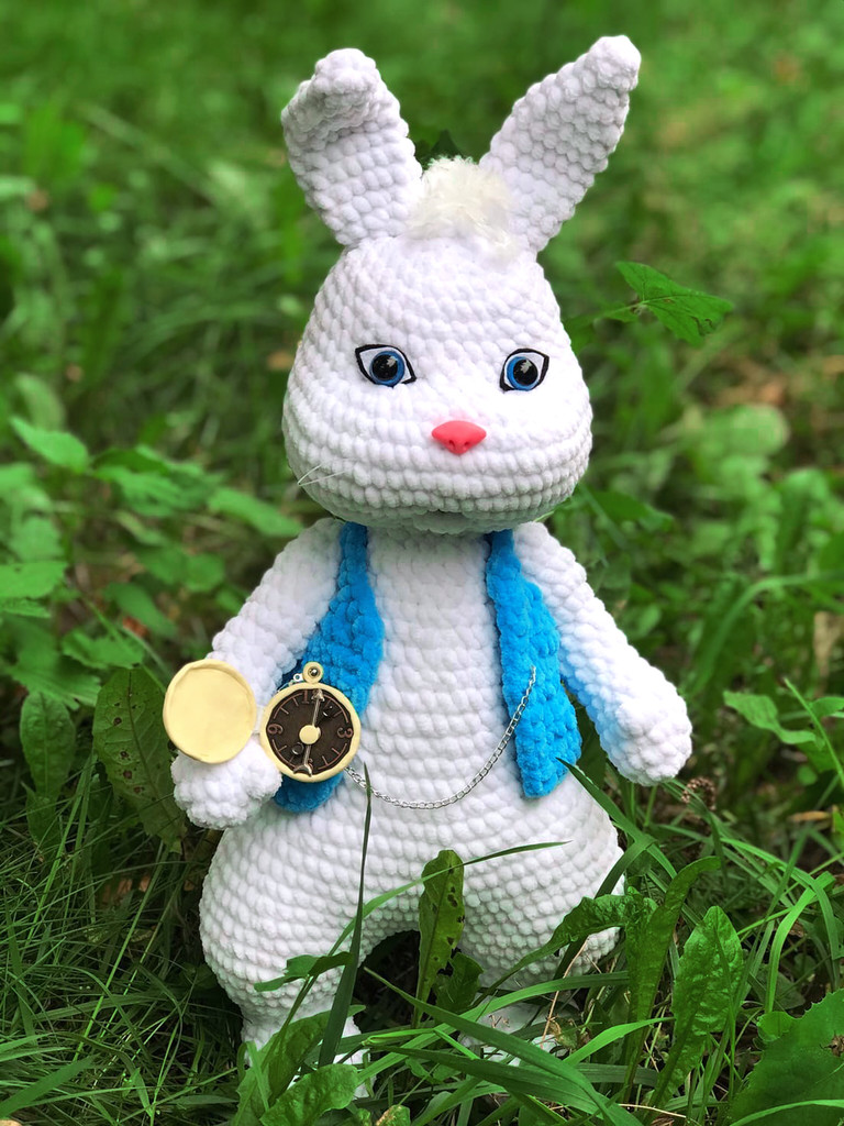 Кролик, фото, картинка, схема, описание, бесплатно, крючком, амигуруми