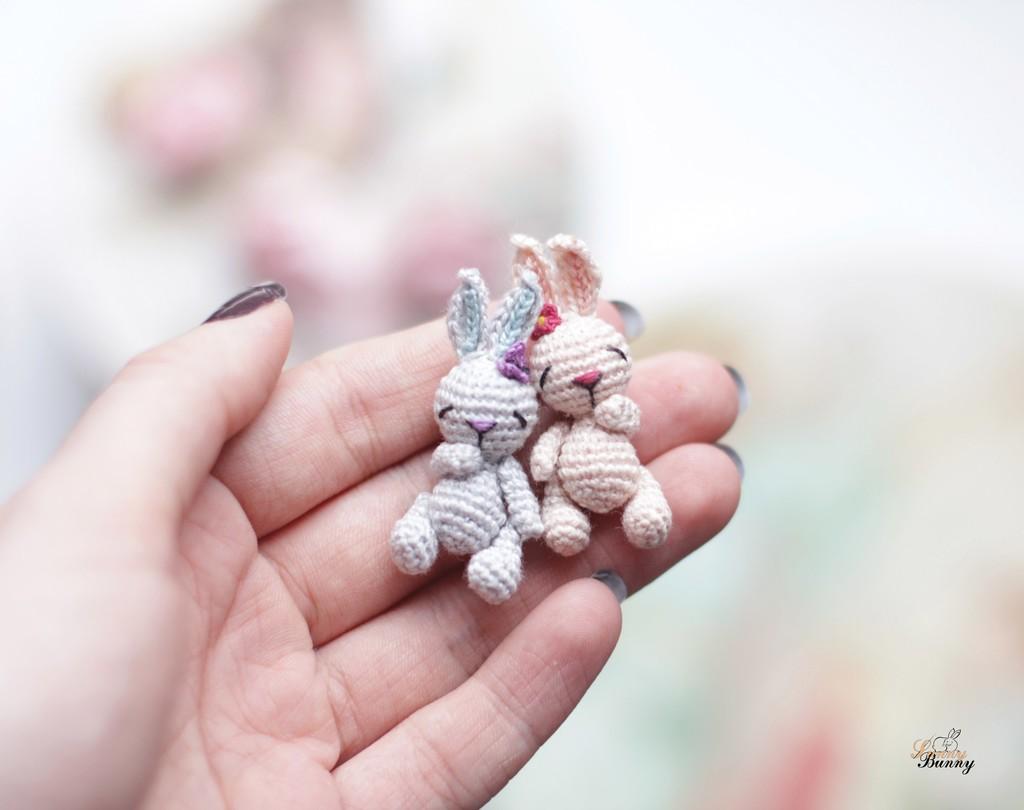 Крошечная Зая-cплюшка, фото, картинка, схема, описание, бесплатно, крючком, амигуруми