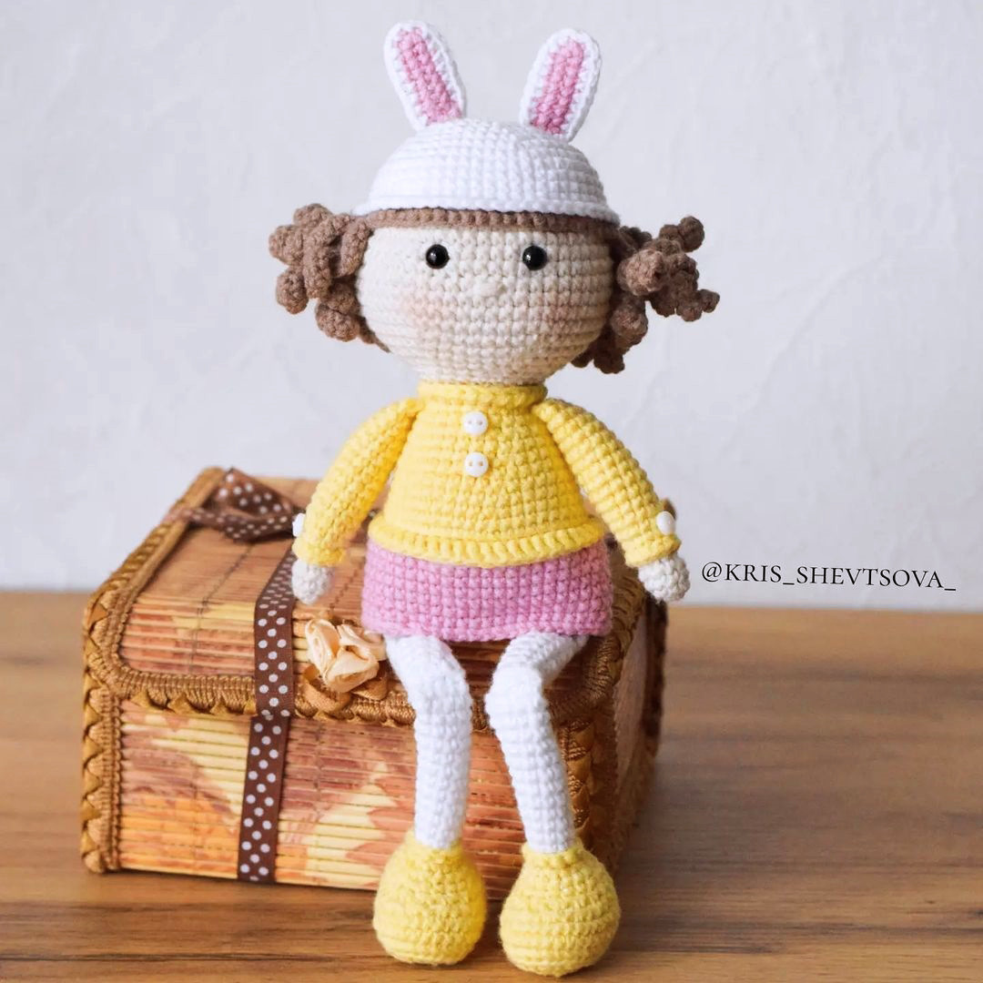Кукла, фото, картинка, схема, описание, бесплатно, крючком, амигуруми