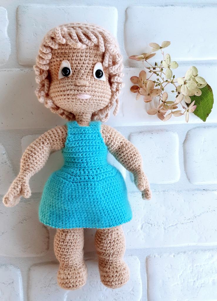 Кукла Оля, фото, картинка, схема, описание, бесплатно, крючком, амигуруми