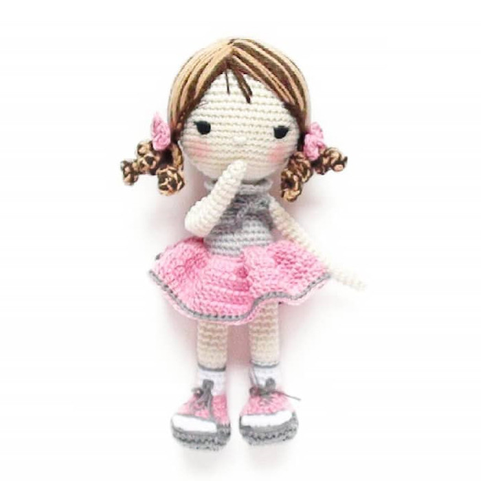 Кукла Сьюзи, фото, картинка, схема, описание, бесплатно, крючком, амигуруми