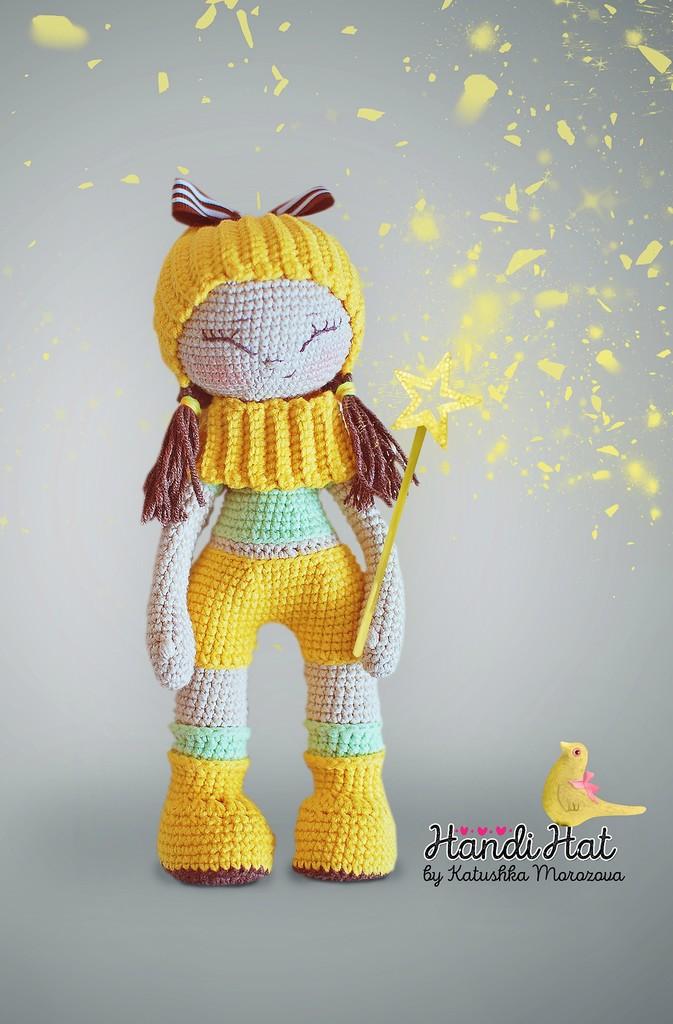 Кукла Улыбашка, фото, картинка, схема, описание, бесплатно, крючком, амигуруми