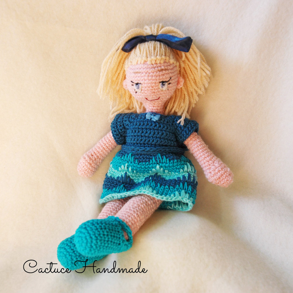 Кукла Валерия, фото, картинка, схема, описание, бесплатно, крючком, амигуруми