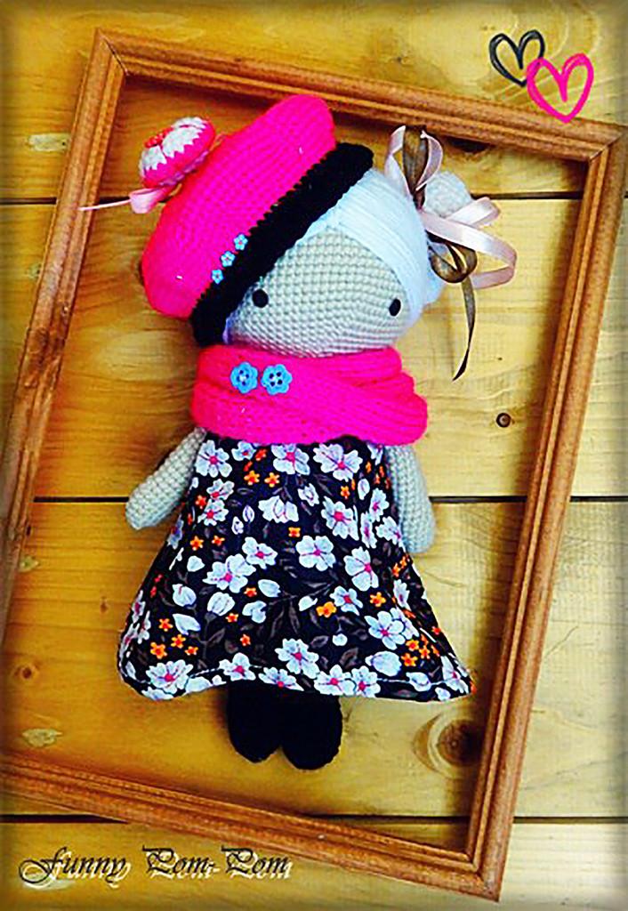 Куколка Magic Dolls, фото, картинка, схема, описание, бесплатно, крючком, амигуруми