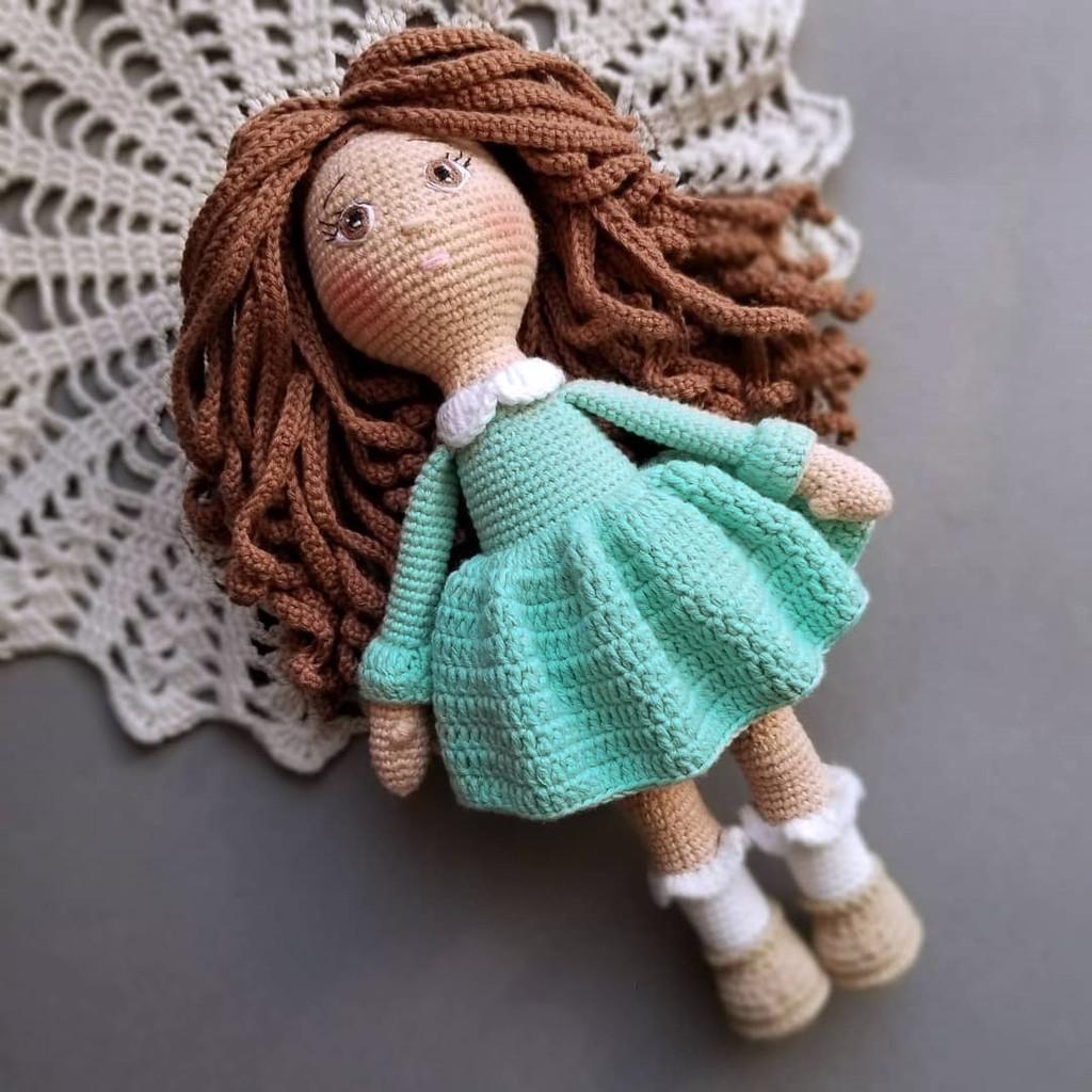 Куколка Анютка, фото, картинка, схема, описание, бесплатно, крючком, амигуруми