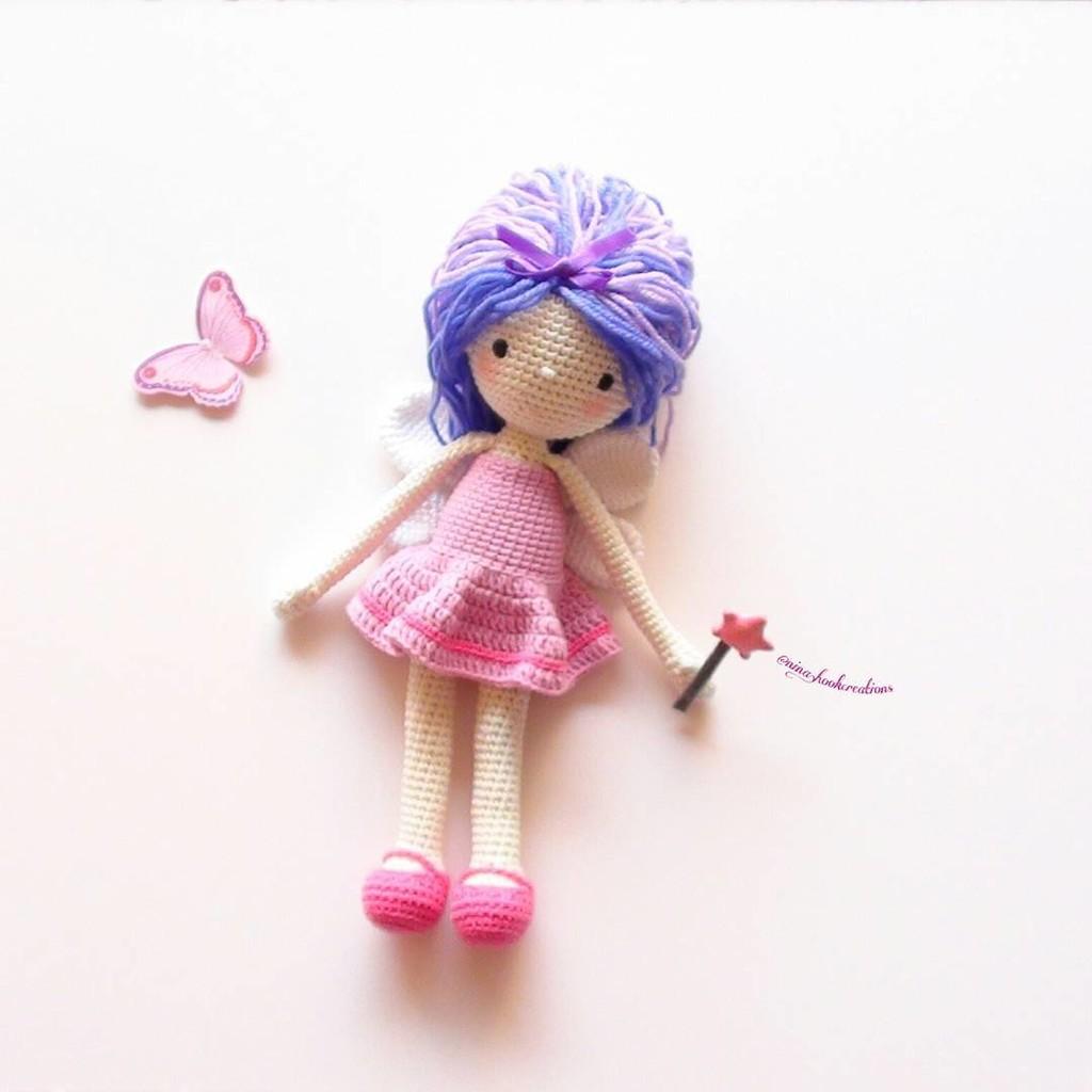 Куколка Блоссом, фото, картинка, схема, описание, бесплатно, крючком, амигуруми