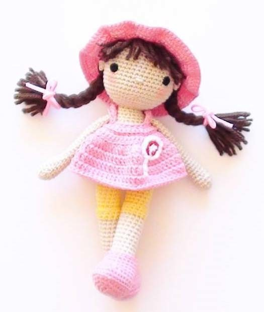 Куколка Джунипер, фото, картинка, схема, описание, бесплатно, крючком, амигуруми