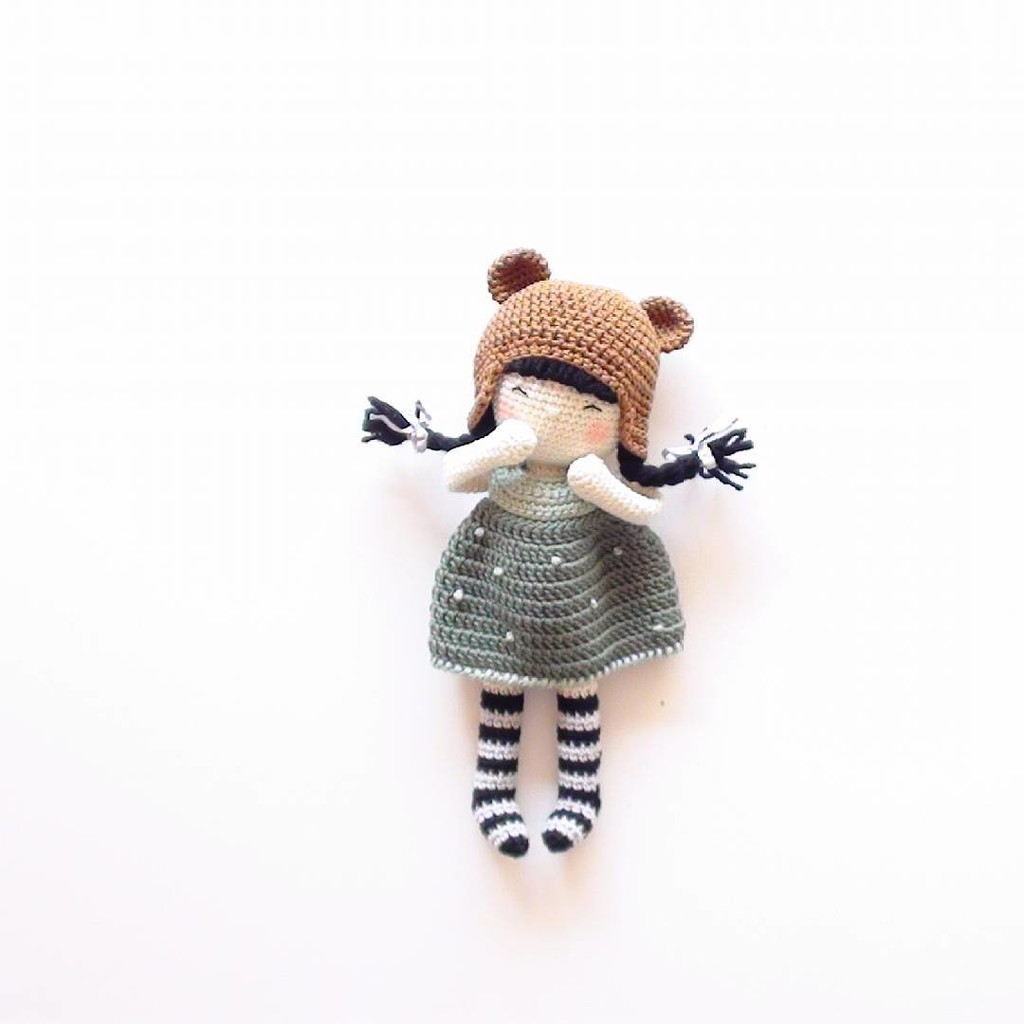 Куколка Элси, фото, картинка, схема, описание, бесплатно, крючком, амигуруми