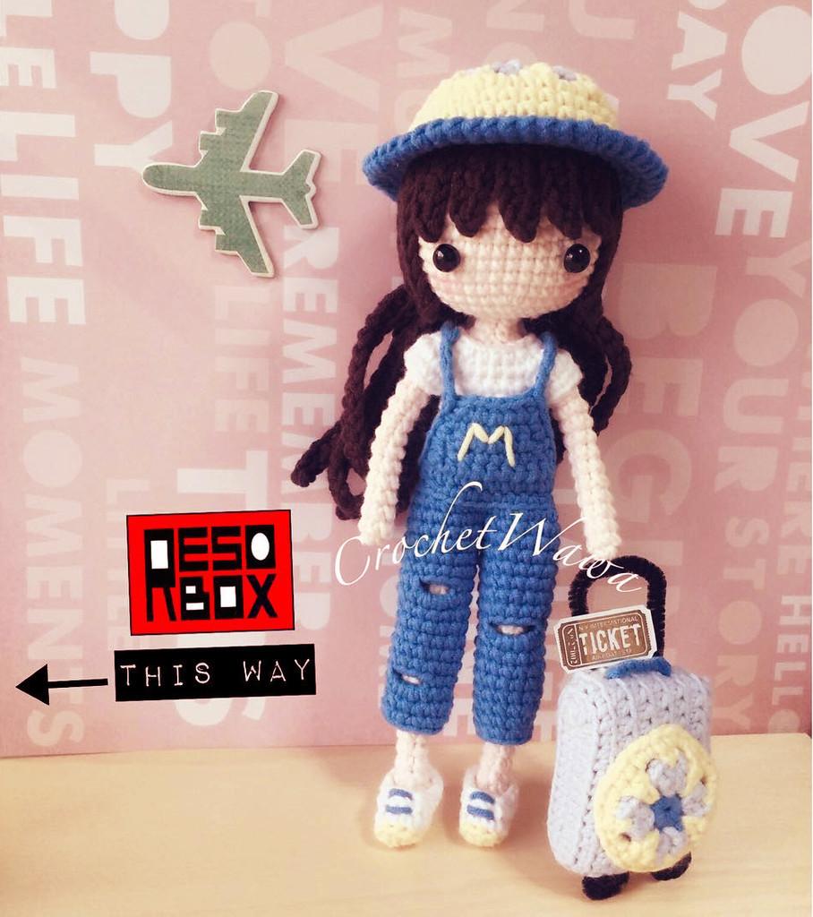 Куколка Ян Шу, фото, картинка, схема, описание, бесплатно, крючком, амигуруми