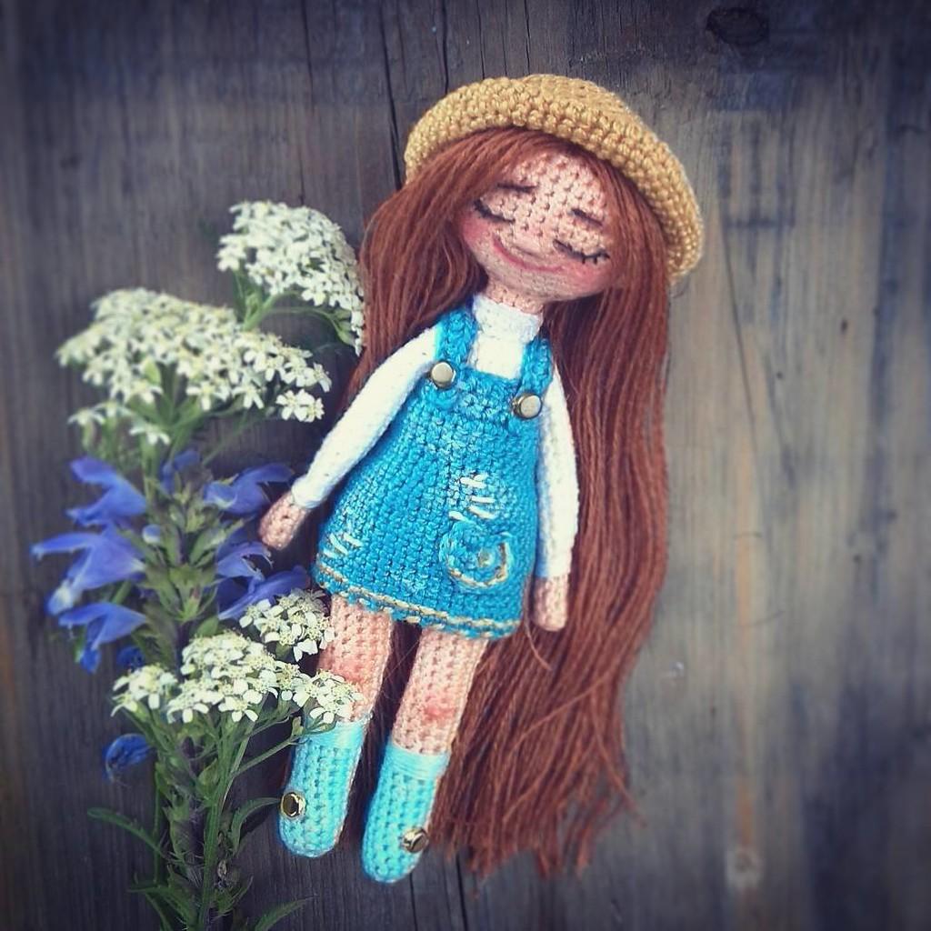 Куколка Соня, фото, картинка, схема, описание, бесплатно, крючком, амигуруми