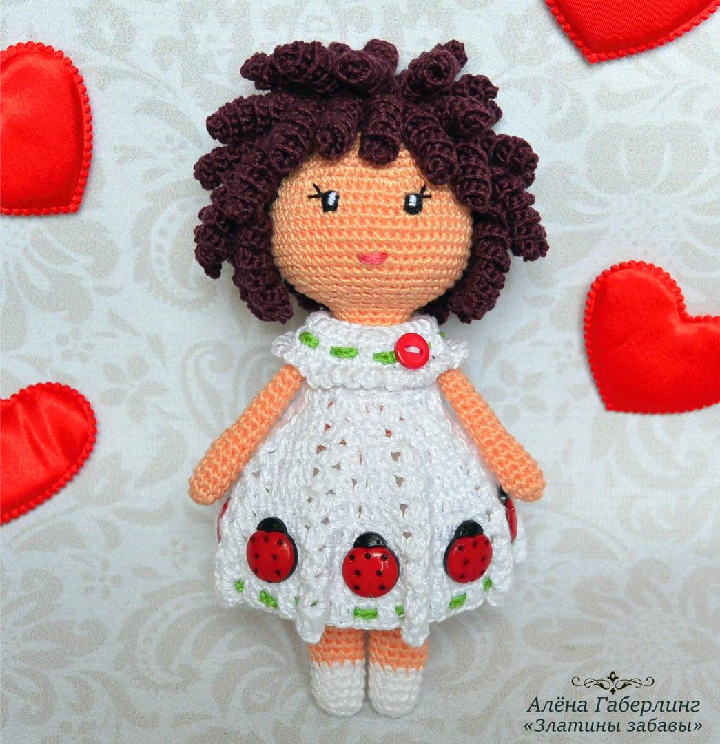 Куколка Зара, фото, картинка, схема, описание, бесплатно, крючком, амигуруми