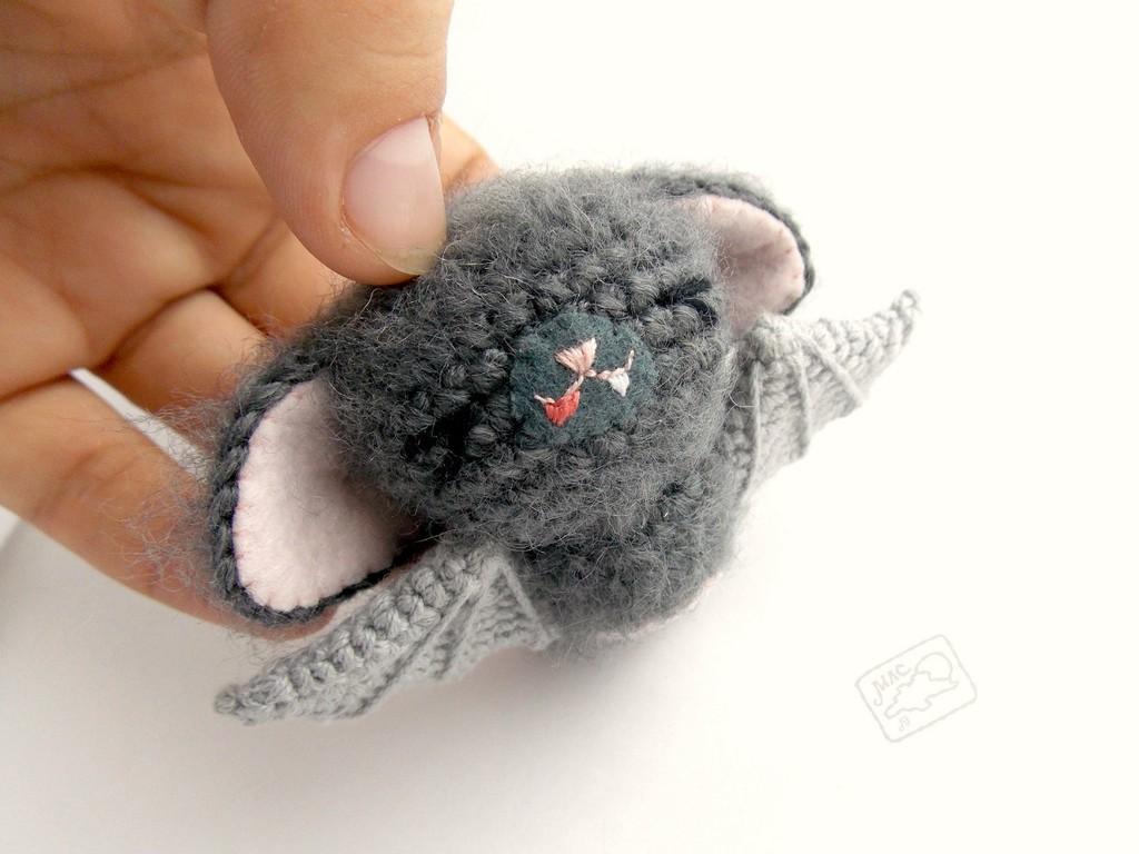 Летучие мыши, фото, картинка, схема, описание, бесплатно, крючком, амигуруми