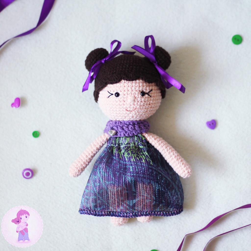 Маленькие Леди, фото, картинка, схема, описание, бесплатно, крючком, амигуруми