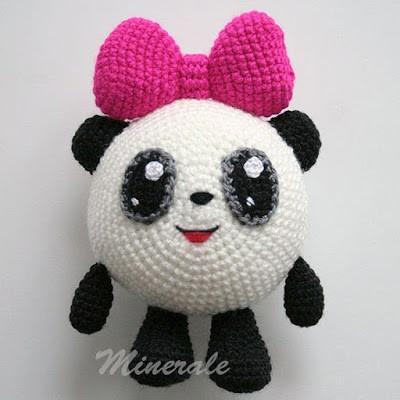 Малышарики Панда, фото, картинка, схема, описание, бесплатно, крючком, амигуруми