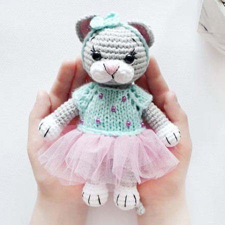 Малышка Мими, фото, картинка, схема, описание, бесплатно, крючком, амигуруми