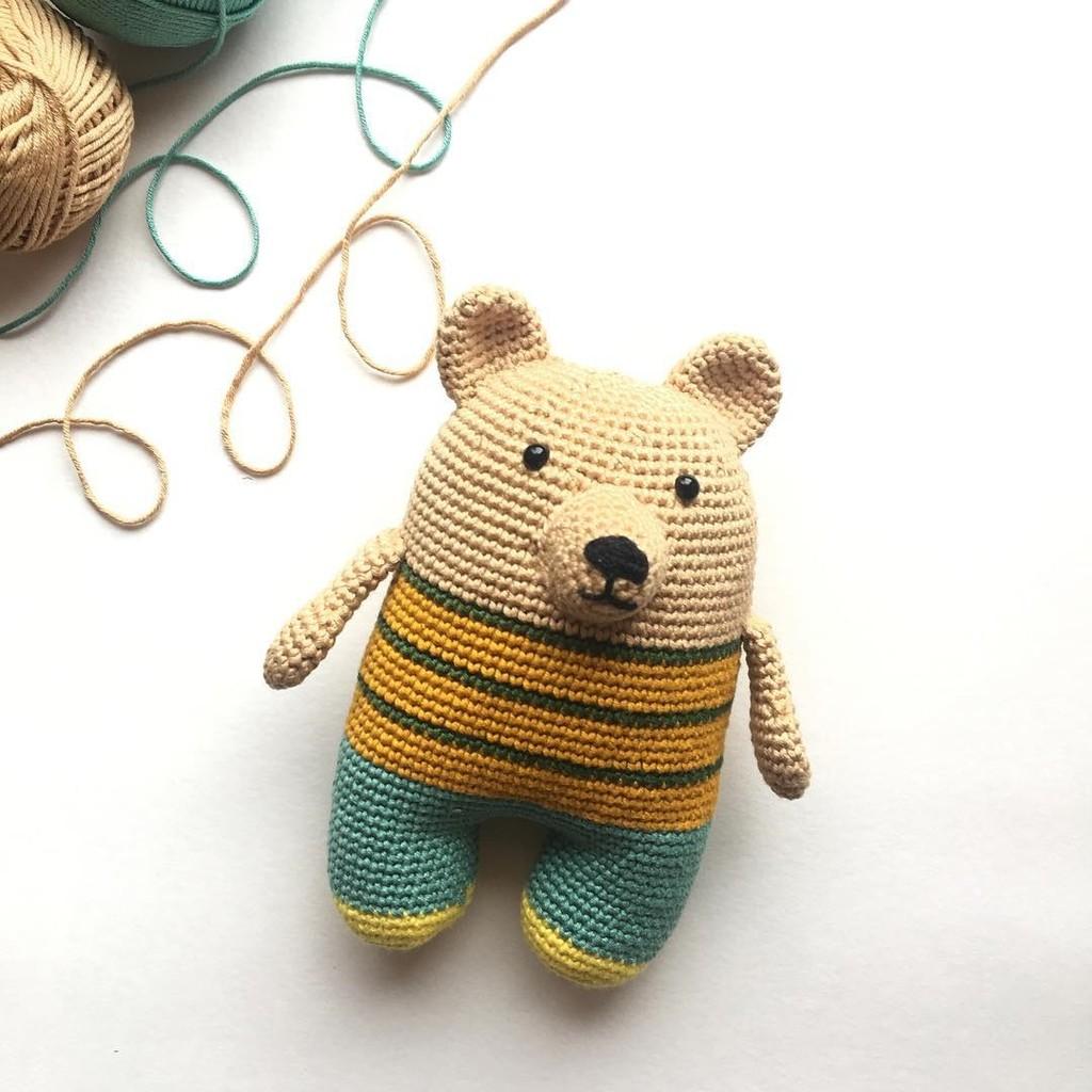 Медведь, фото, картинка, схема, описание, бесплатно, крючком, амигуруми