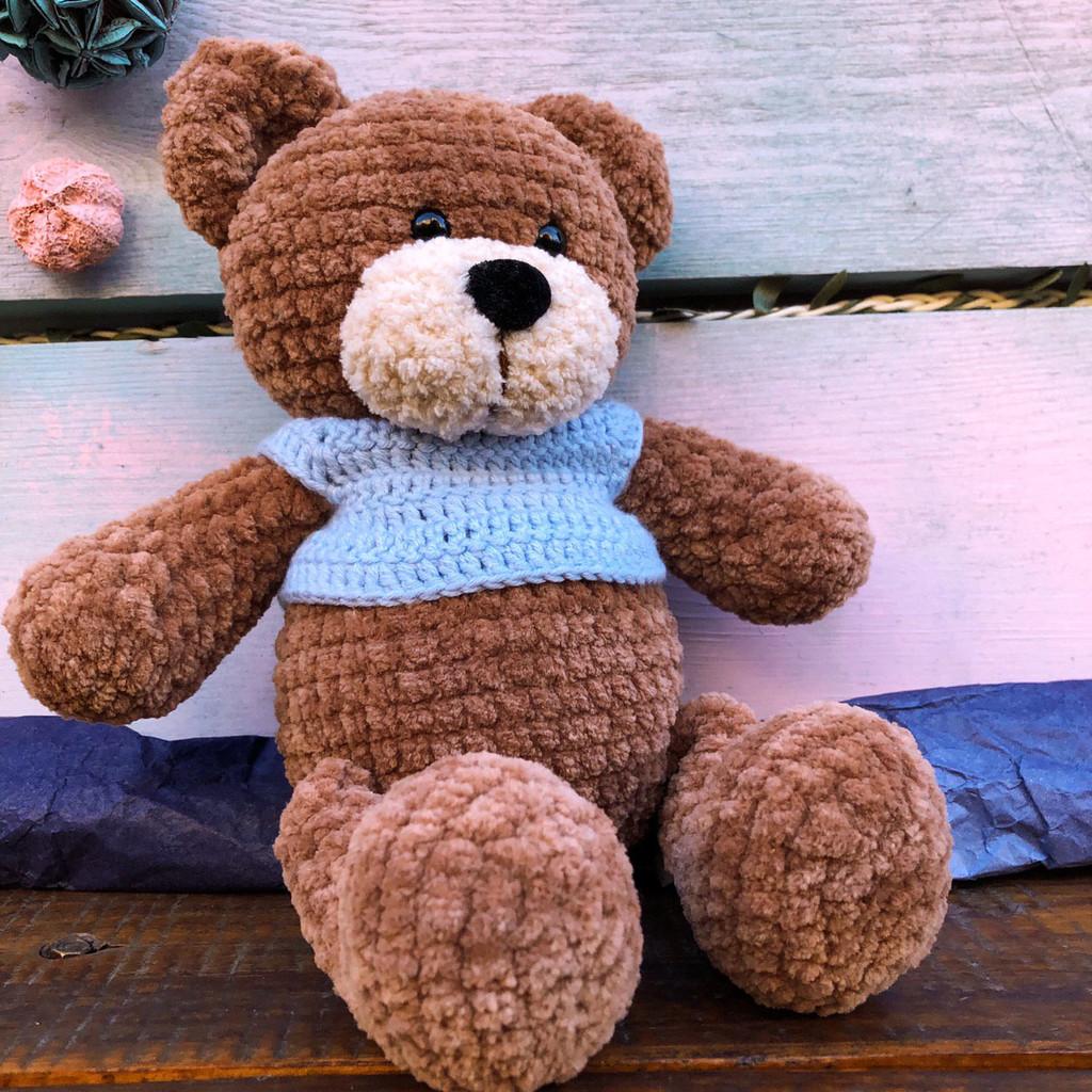 Медвежонок Френк, фото, картинка, схема, описание, бесплатно, крючком, амигуруми