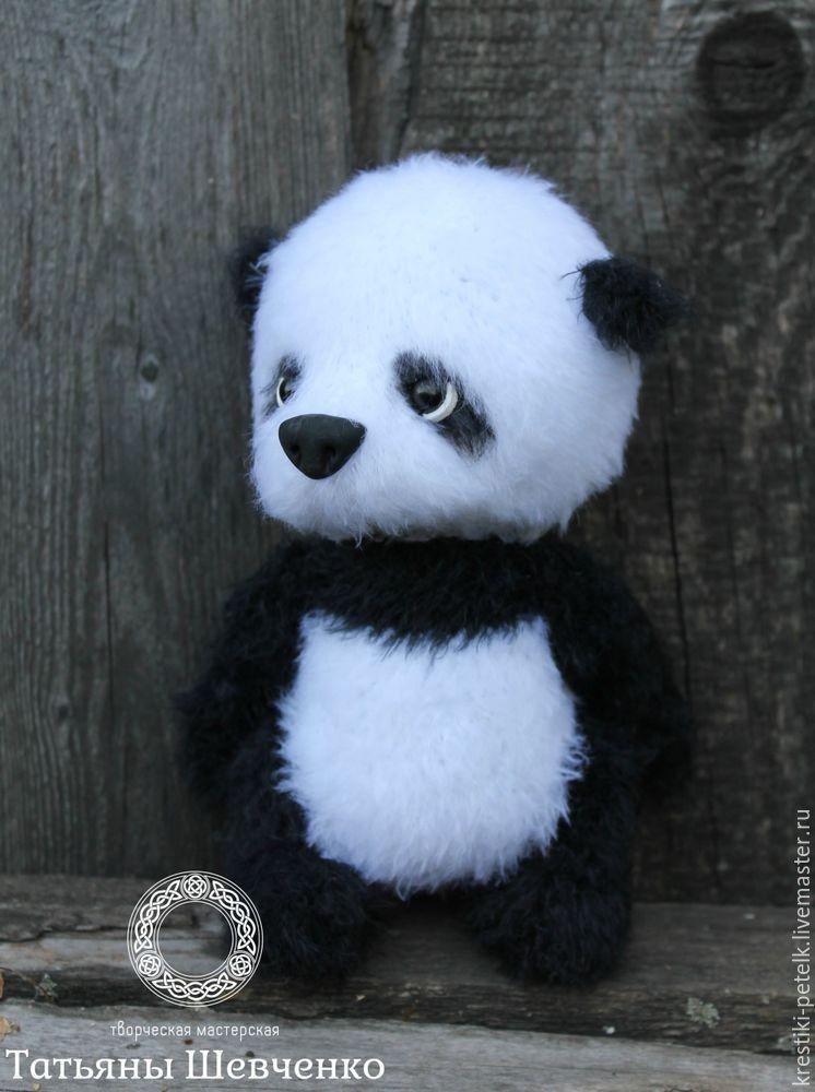 Медвежонок Панда, фото, картинка, схема, описание, бесплатно, крючком, амигуруми