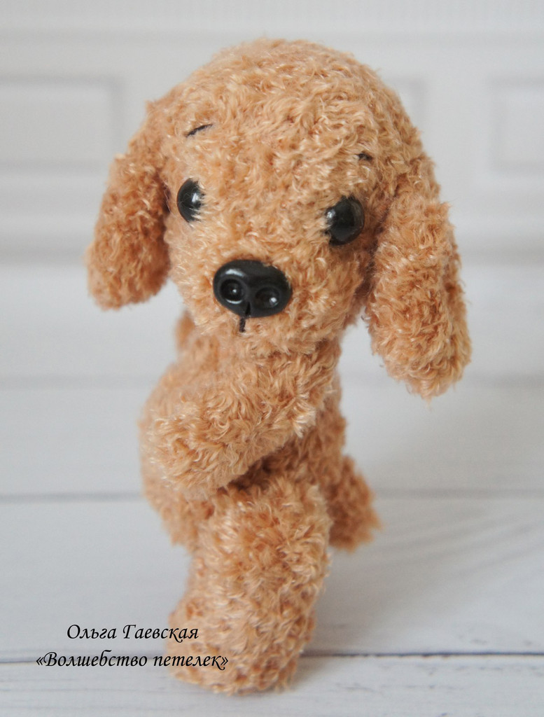 Мини собачка, фото, картинка, схема, описание, бесплатно, крючком, амигуруми