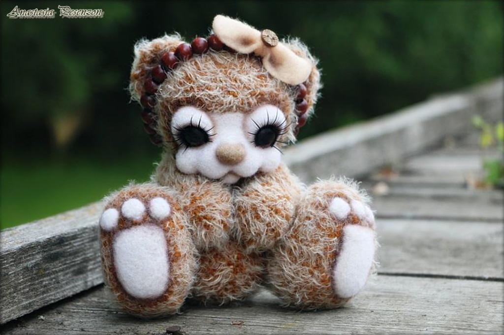 Мишка Лукеша, фото, картинка, схема, описание, бесплатно, крючком, амигуруми