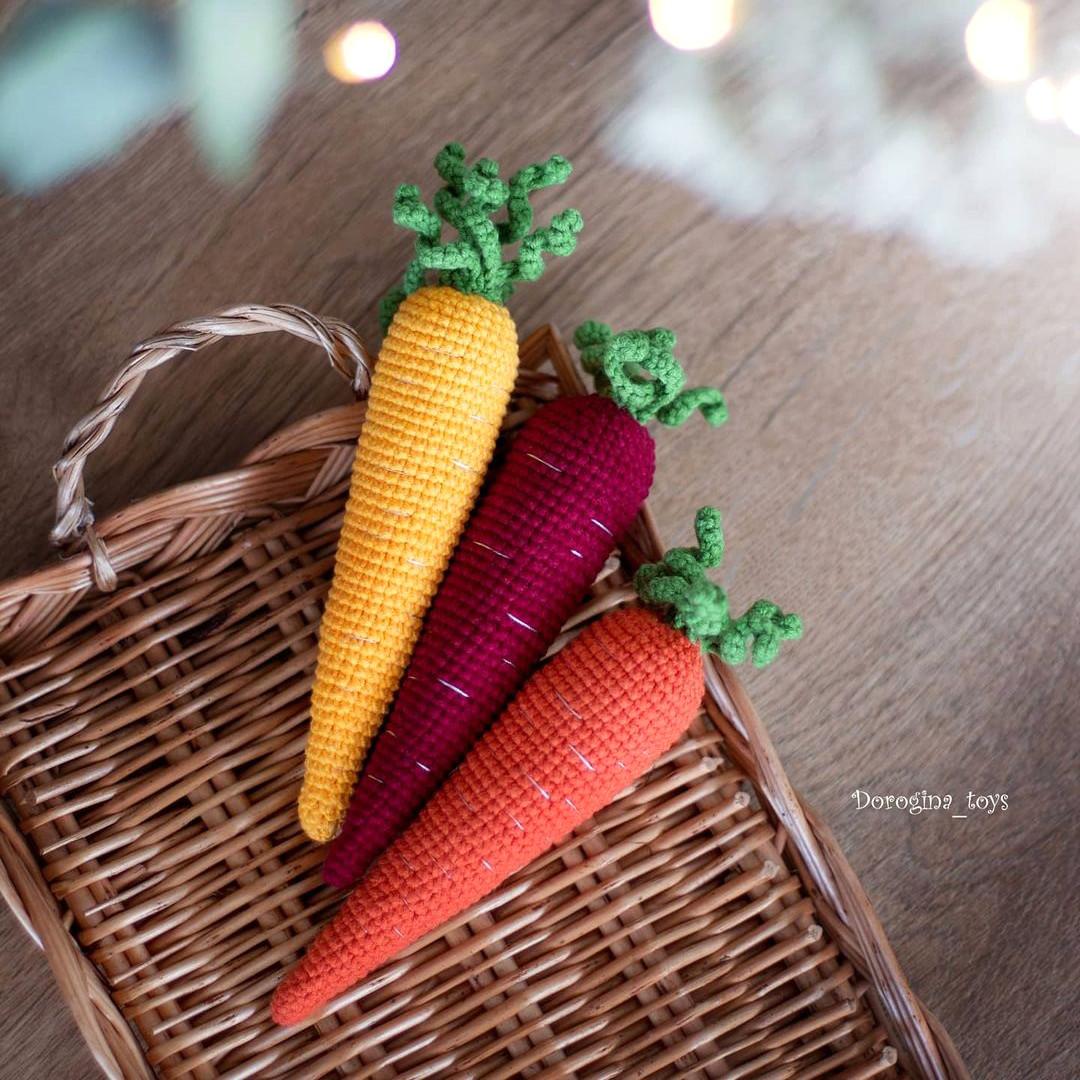 Морковь, фото, картинка, схема, описание, бесплатно, крючком, амигуруми