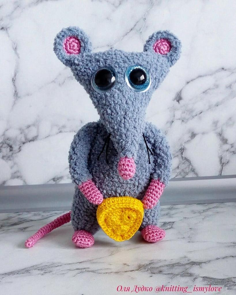 Мышь, фото, картинка, схема, описание, бесплатно, крючком, амигуруми