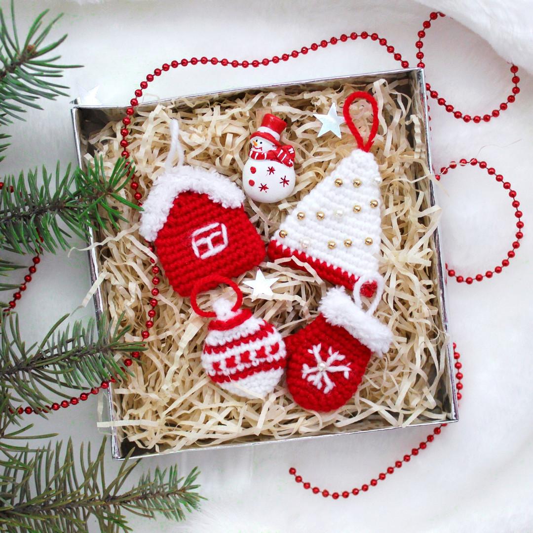 Новогодние сувениры, фото, картинка, схема, описание, бесплатно, крючком, амигуруми