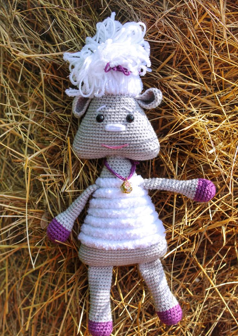 Овца Милавечка, фото, картинка, схема, описание, бесплатно, крючком, амигуруми