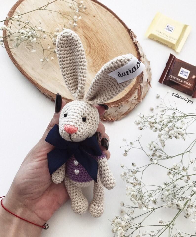Пасхальный кролик, фото, картинка, схема, описание, бесплатно, крючком, амигуруми