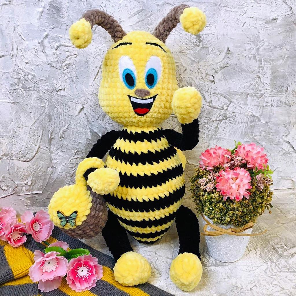 Схема Пчёлка Жужа крючком