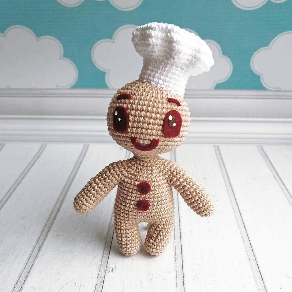 Печенька Пикабу, фото, картинка, схема, описание, бесплатно, крючком, амигуруми