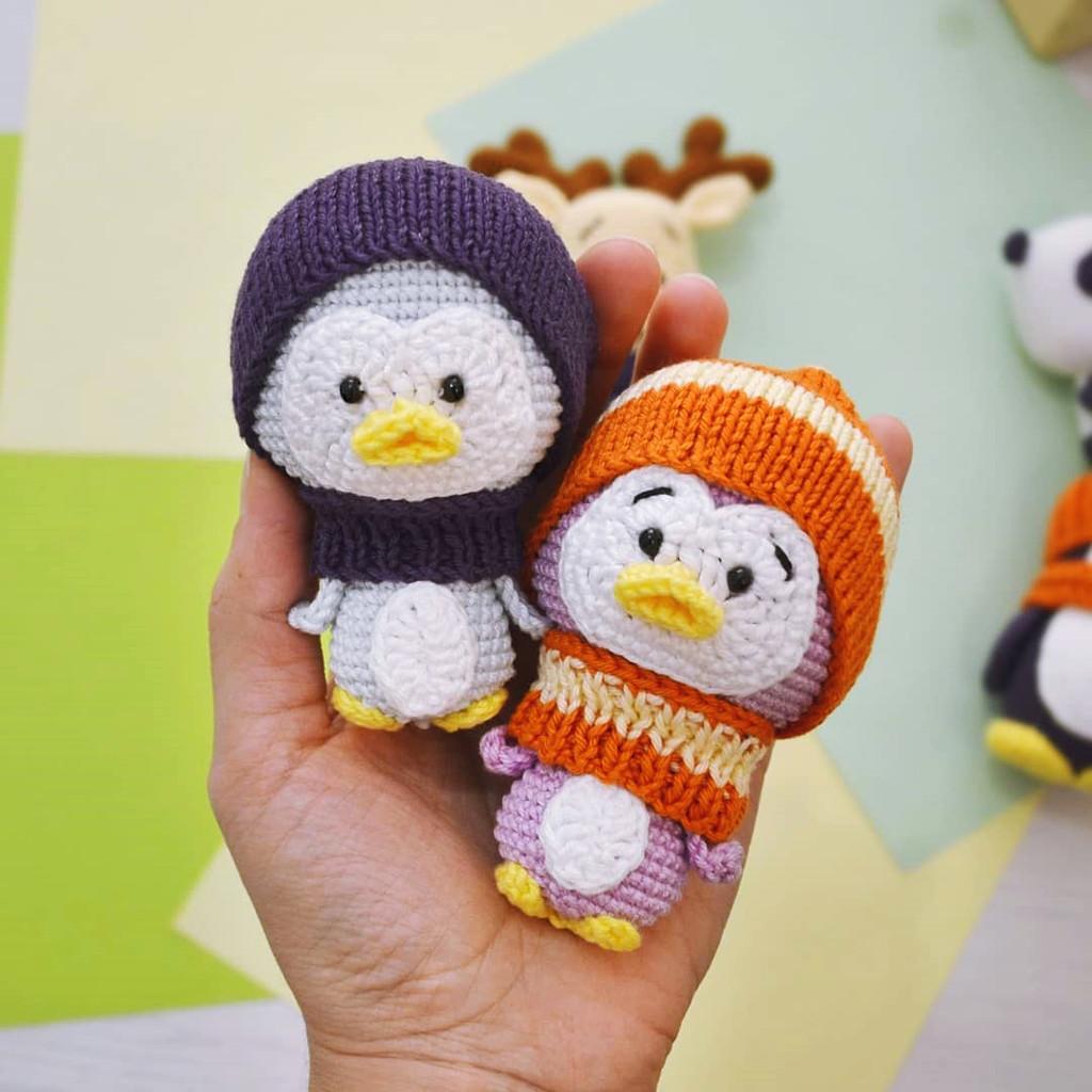 Пингвин, фото, картинка, схема, описание, бесплатно, крючком, амигуруми