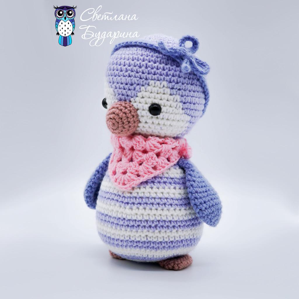 Пингвинёнок, фото, картинка, схема, описание, бесплатно, крючком, амигуруми