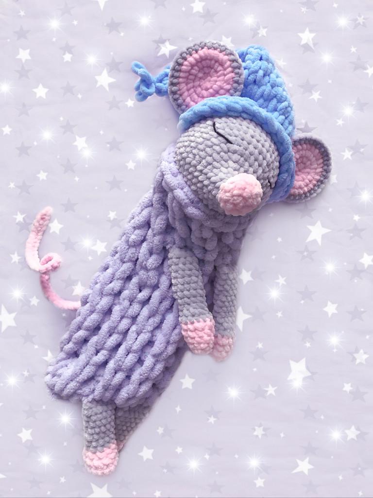 Пижамница Мышка, фото, картинка, схема, описание, бесплатно, крючком, амигуруми