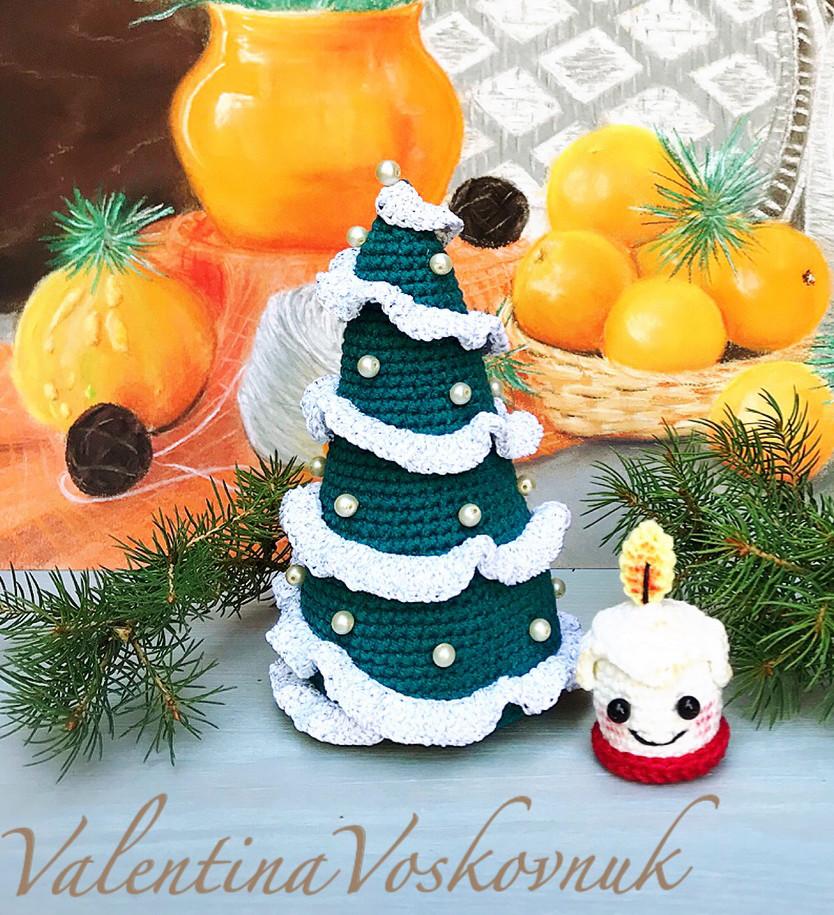 Рождественские ёлочки, фото, картинка, схема, описание, бесплатно, крючком, амигуруми