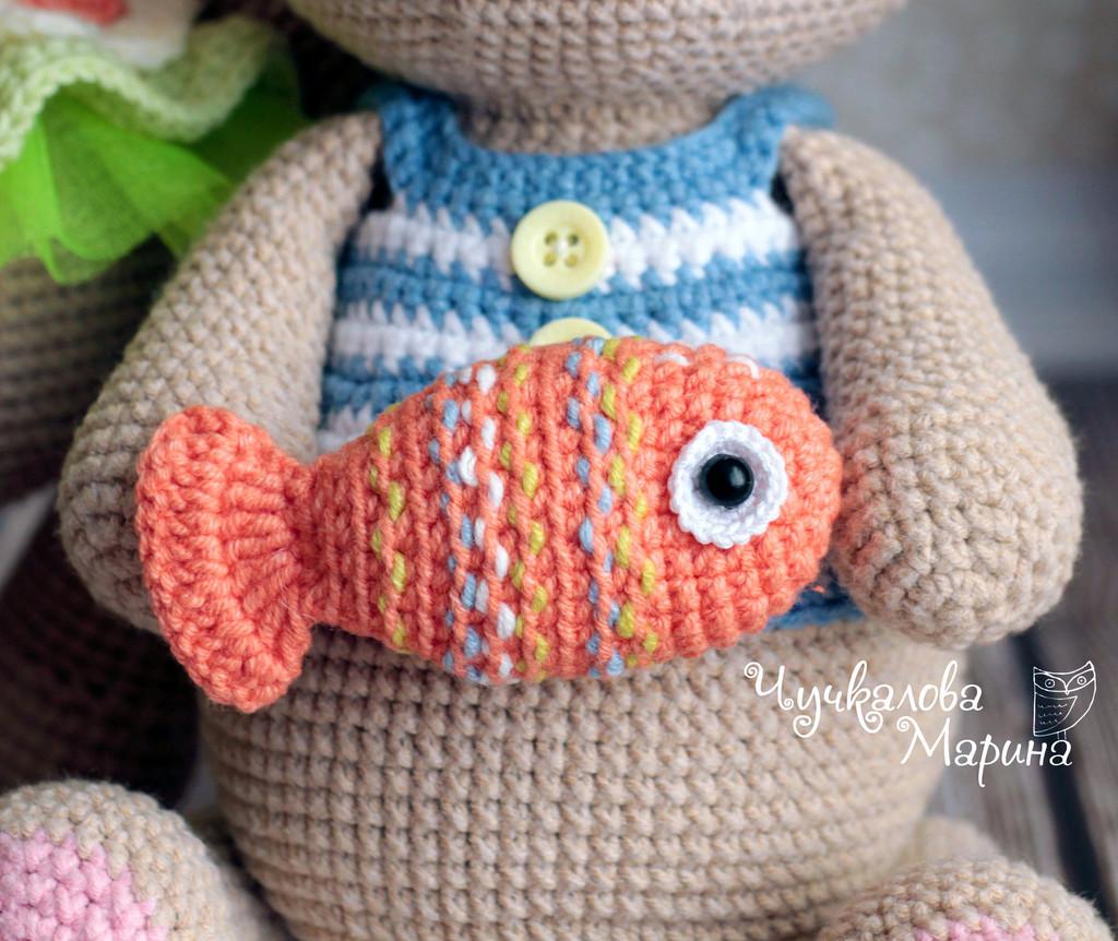 Рыбка Буль-буль, фото, картинка, схема, описание, бесплатно, крючком, амигуруми