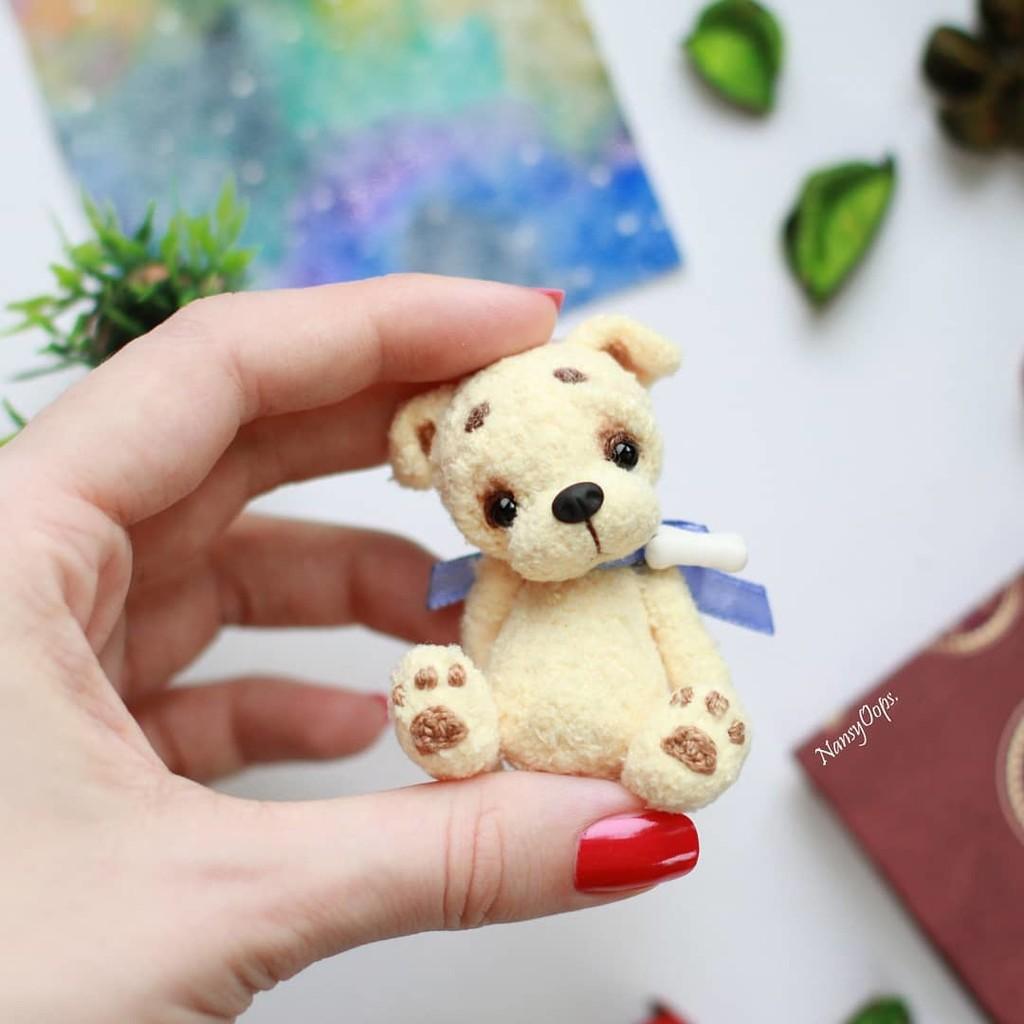 Щенок Малыш, фото, картинка, схема, описание, бесплатно, крючком, амигуруми