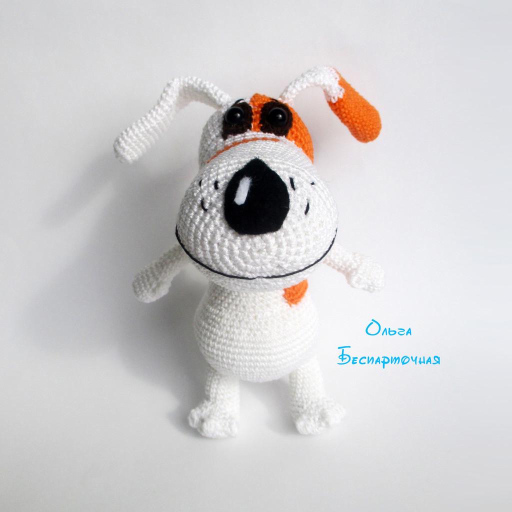 Собачка Соня, фото, картинка, схема, описание, бесплатно, крючком, амигуруми