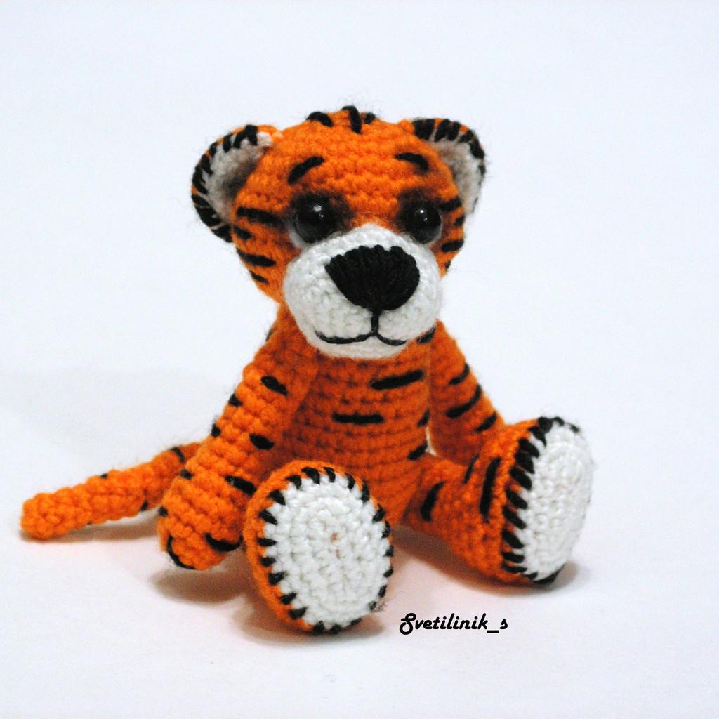 Тигр-р-р, фото, картинка, схема, описание, бесплатно, крючком, амигуруми