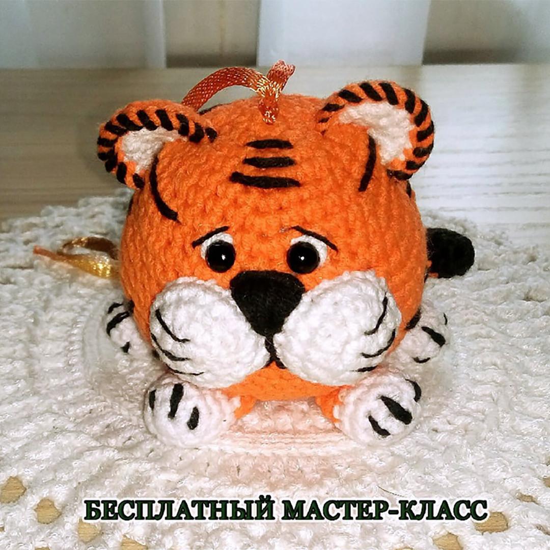 Тигруша, фото, картинка, схема, описание, бесплатно, крючком, амигуруми