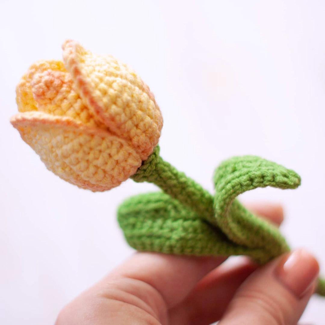 Схема Тюльпан крючком