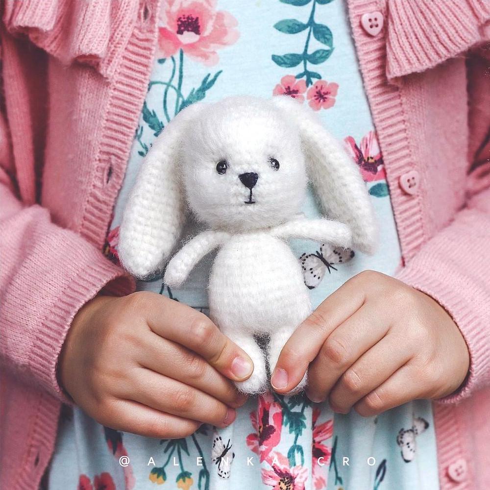 Заяц Пломбир, фото, картинка, схема, описание, бесплатно, крючком, амигуруми